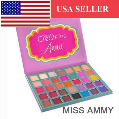 [Beauty Creations] 100% Authentic Anna Eyeshadow Makeup Palette 35 Shades for sale  Shipping to Canada