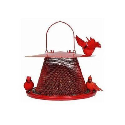 NO-NO BIRD FEEDER THE CARDINAL METAL SQUIRREL PROOF
