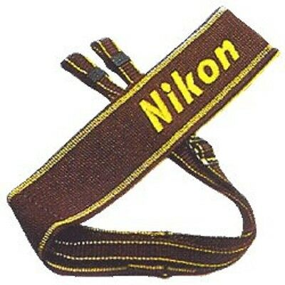 Nikon Japan Camera Official Neck Strap Brown AN-6W ●Free tracking number●