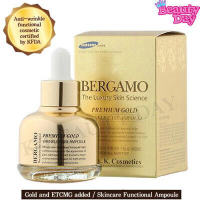 BERGAMO Luxury Premium Gold Wrinkle Care Ampoule 30ml Korean Cosmetics