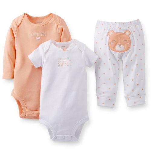 Newborn Baby Girl Clothes Carters | eBay
