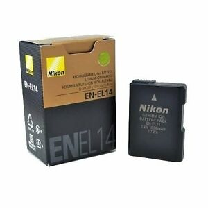 Brand new never used Nikon EN-EL14 recharchable battery