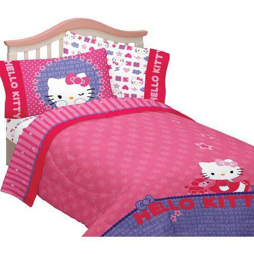 Hello Kitty Twin Bed In A Bag Ebay