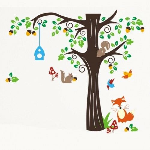 Forest Animals Wall Decal - Brand New - Kilmarnock Area