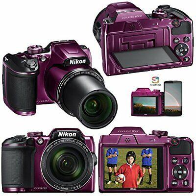 SALE! Nikon COOLPIX B500 16.0MP Digital Camera - Plum SALE! Free Shipping!