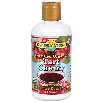 Dynamic Health Tart Cherry Juice Concentrate - 32 Ounces Liquid  Cherry 32 Ounce Liquid