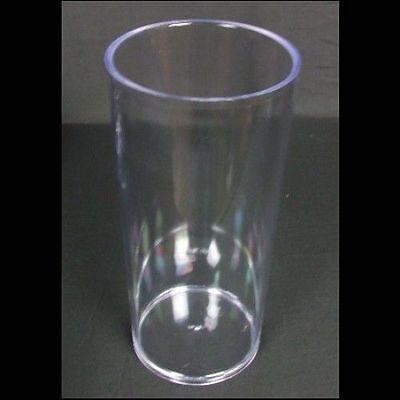 "5"" x 10"" Clear Acrylic Cylinder Flower Vase Decorative Centerpiece Supply"