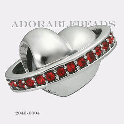 Authentic Chamilia Siena Collection Silver Dolce Vita Chinati Bead 2040-0004