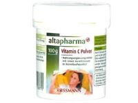 Altapharma 100% PURE Vitamin C Pulver Powder Healthy Food Supplement Wellbeing