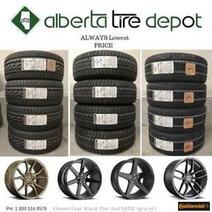 OPEN 7 DAYS UP To 15% SALE LOWEST PRICE 235/55R18 Continental EXTREME CONTACT DWS06 EXTREMECONTACT DWS 06 Tire Rims