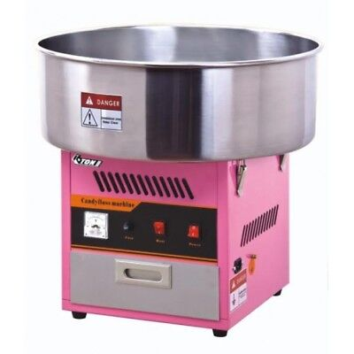 Candy floss machine and metal bowl, candy floss, floss, commercial