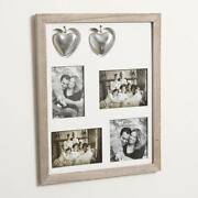 Distressed Wooden Photo Frame