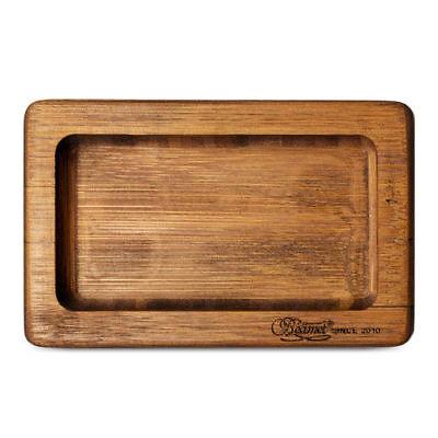 Bamboo Paper (Beamer Smoke Pocket Bamboo Rolling Tray - 1 TRAY - Premium Natural No)