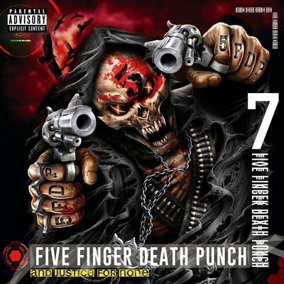 Five Finger Death Punch Cd   And Justice For None  Deluxe Edition  2018    New