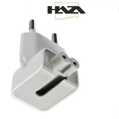 3x Strom Kabel Stecker AC Adapter EU 2 Pin Netzteil MacBook Pro Air iPad Magsafe ()