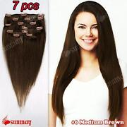 Half Head Human Hair Extensions