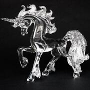 Glass Unicorn Figurine