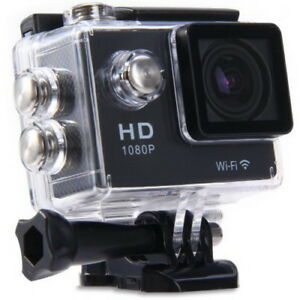 WIFI Action Camera 1080P H.264 2 Inch 170° Lens Waterproof Car D
