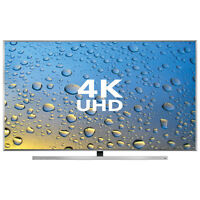 MAY SALE NEW SAMSUNG 4K 3D SMART FLAT & CURVED LED TVS! warranty
