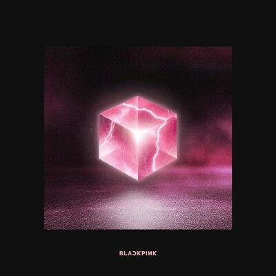 BLACKPINK-[Square Up]1st Mini Album Black CD+Book+Lyrics+Selfie+Card+Gift
