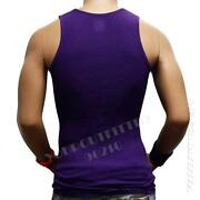Purple Tank Top Men