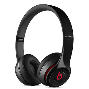 NEW BEATS BY DR DRE SOLO2 WIRELESS HEADPHONES BLUETOOTH SOLO 2 ON-EAR - BLACK