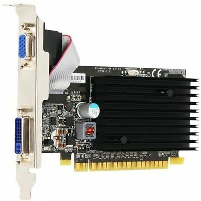 Grafikkarte PCI-Express 2.0 x16 256 MB DVI VGA MSI Nvidia GeForce 8400GS lautlos