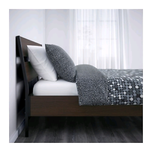 95% New Ikea Double Sized Bed Frame and Mattress