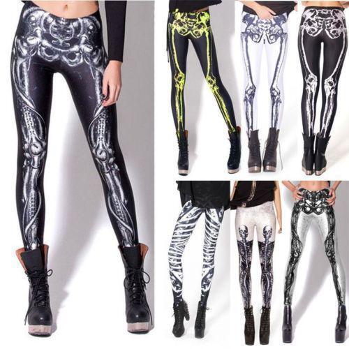 Skeleton Leggings | eBay