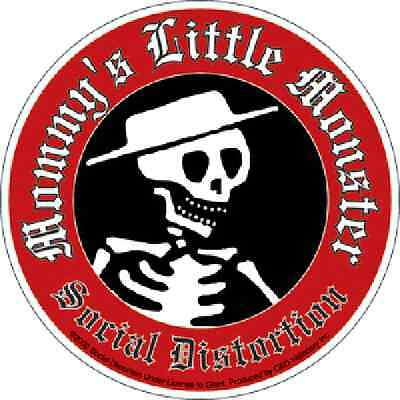 Social Distortion - Mommy's Little Monster Sticker