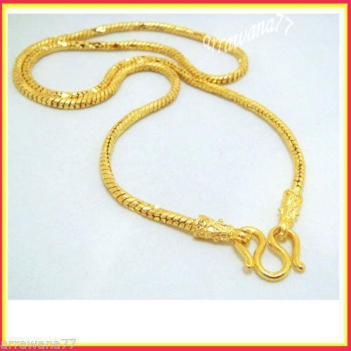 Thai Gold Necklace: 24K Thai Gold Necklace