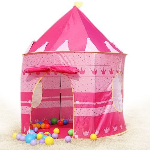 Princess tents role play