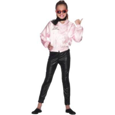Smi - Karneval Kinder Kostüm Pink Ladies Grease Jacke aus Musical
