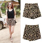 Leopard Hotpants