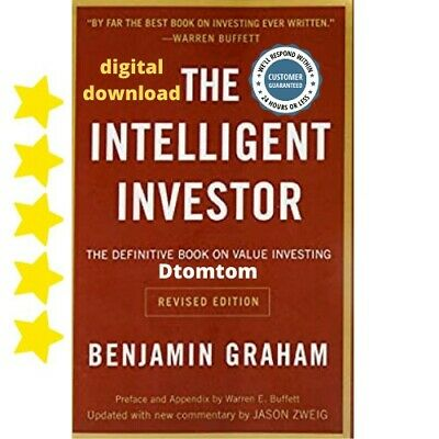 💰💰🔥Real Pdf download The intelligent Investor by Benjamin Graham 622 pages 🔥