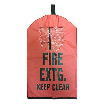 New Fire Extinguisher Covers W Window 5 Abc Co2 Halotron 20 X 11 12 Fec1w