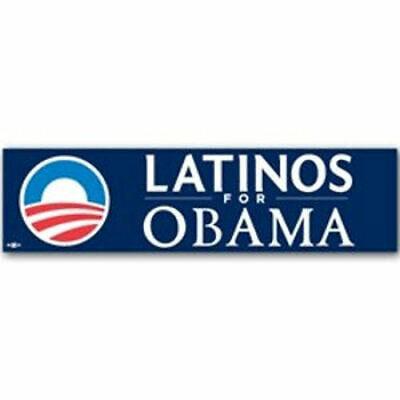 Latinos For Barack Obama President Bumper Sticker