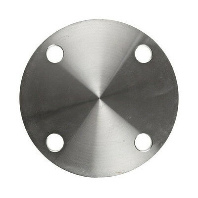 2 Stainless Steel 304 Blind Plate Flange