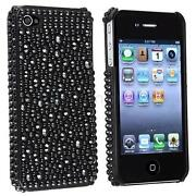 Black Rhinestone iPhone 4 Case