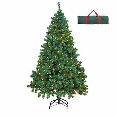 OUSFOT Prelit Christmas Tree 6 Feet 400 LEDs 800 Tips 8 Lighting Modes Warm W...