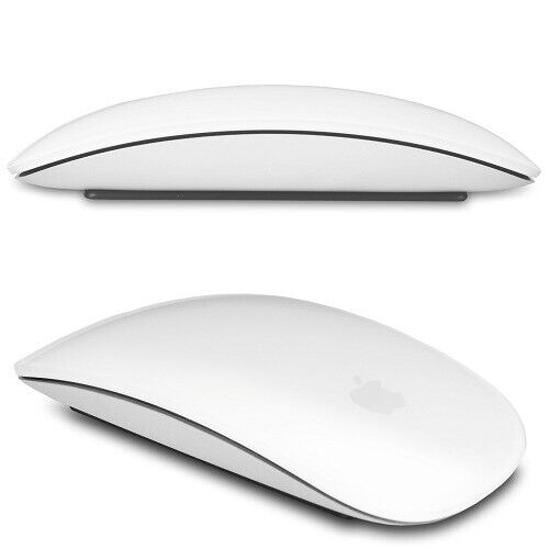 Apple A1296 Bluetooth Laser Mutl-Touch Magic Mouse (White)