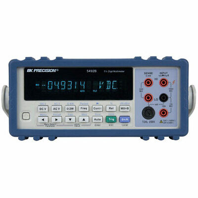 Bk Precision 5492b 120000 Count 5 12 True Rms Bench Multimeter