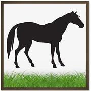Wandtatoo Pferd