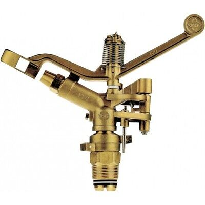 Vyrsa 150-BRASS IMPACT SPRINKLER BODY 32mm Male,Part-Circle, 700kPa Max Pressure