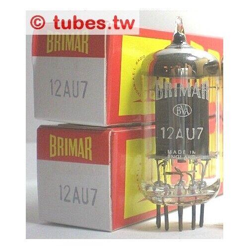 Brimar ECC82=12AU7 =CV4003,1960s ,UK made , long plate!TUBE,VALVE
