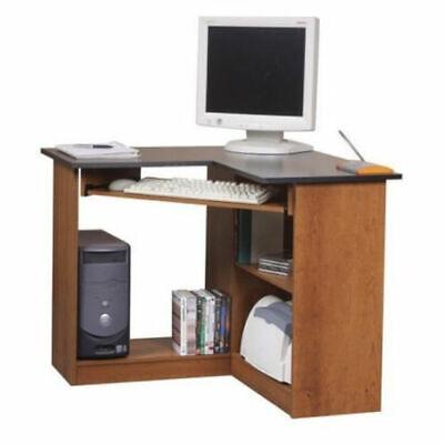 Corner Computer Desk Home Office Student Workstation Writing Table Desktop Wood (Desktop Table)