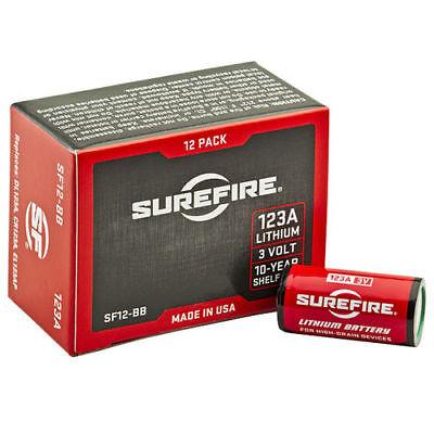 SureFire 123A CR123A 3 Volt Lithium Batteries (12 Pack)