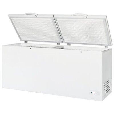 Maxx Cold 30 Cu. Ft. Commercial Nsf Sub Zero 2 Lid Chest Freezer 76 White 115v