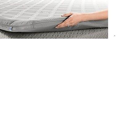 Sleep Number Bed Dual Temp Mattress Layer Temperature Topper Queen