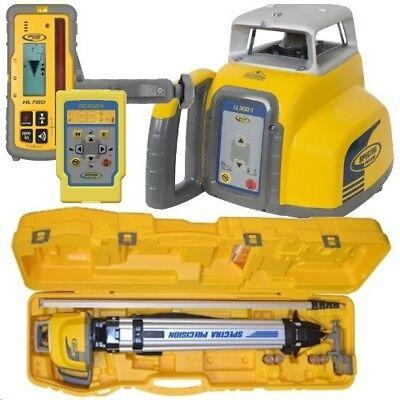 Spectra Laser Ll300s-17 Hl760 Receiver Complete Kit Wrc402n Remote Control